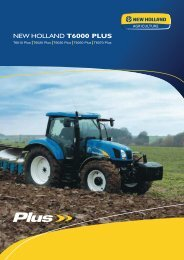 NEW HOLLAND T6000 PLUS