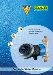 Domestic Water Pumps - Energija plus