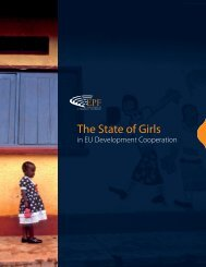 State of Girls in EU Development Cooperation - EPF