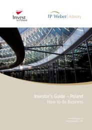 Investor's Guide - Polish Agency for Foreign Investment