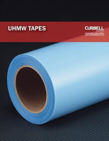 UHMW Tapes Product Sheet Booklet - Curbellplastics.com