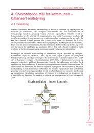 4. Overordnede mål for kommunen – balansert målstyring - Sandnes ...