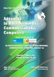 ADVANCES in DATA NETWORKS - Wseas.us