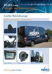 MEKRA Lang Spiegel- und Kamerasystem
