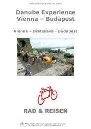 Danube Experience 2012 - Bike Tours To Go