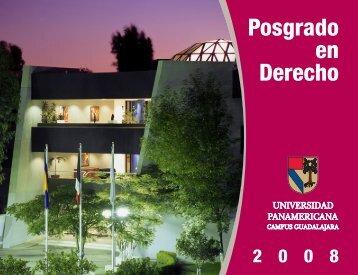 Posgrado en Derecho - Universidad Panamericana