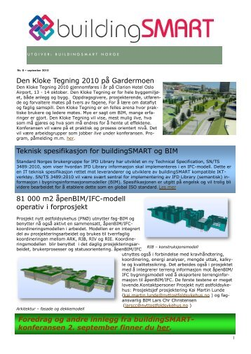 Nyhetsbrev sept2010.pdf - buildingSMART