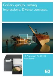 HP BIJ1200 Tearpad (Page 1) - OSCS