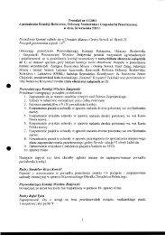 Protokół z posiedzenia Komisji Rolnictwa, Ochrony Środowiska i ...