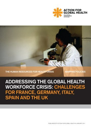 addressing the global health workforce crisis: challenges for france ...
