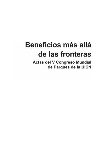 Beneficios más allá de las fronteras - IUCN