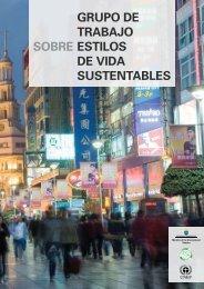 grupo de trabajo estilos de vida sustentables sobre - DTIE