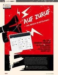 Auf Zuruf - der Mensch im Mittelpunkt.pdf - Projectplace