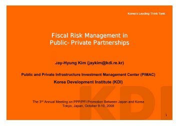 Fiscal Risk Management in Public-Private Partnerships [PDF:123KB]