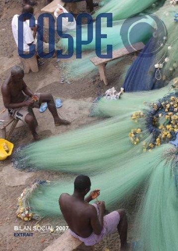 BILAN SOCIAL 2007 - Cospe