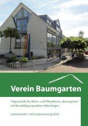 Verein Baumgarten - Wohnheim Baumgarten