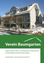 JB Baumgarten 2012 - Wohnheim Baumgarten