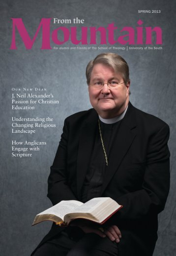 current issue - The School of Theology - Sewanee
