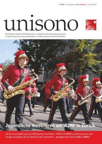 Jugendliche musizieren am WJMF in Zürich - Schweizer ...