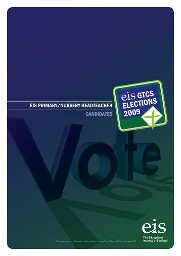 eis primary/nursery headteacher candidates - The Educational ...
