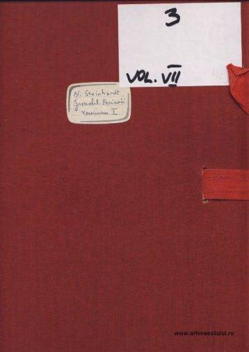 M. Lovinescu - D3VOLVII - arhivaexilului.ro