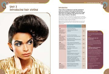 Vtct level 1 foundation diploma in hair and - Pearson Schools