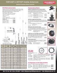VHF/UHF & HF/VHF Mobile Antennas - DX Engineering