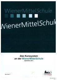 Broschüre Kurssystem und Kursdokumentation - Referat für ...