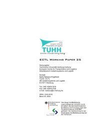 ECTL Working Paper 25 - Institut für Verkehrsplanung und Logistik ...