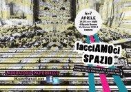 Brochure - FacciAMOci spazio! - Global Project