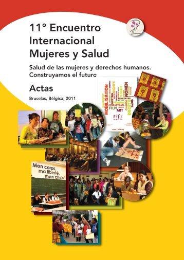 11° Encuentro Internacional Mujeres y Salud - Le Monde selon les ...
