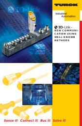 Product flyer - TURCK