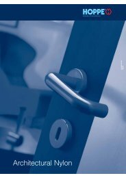 Architectural Nylon Page 267-292 - Architectural Hardware Direct