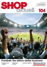 football: the billion-dollar business - Umdasch - Shop Concept