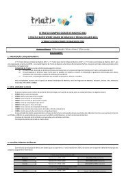 Regulamento – III Triatlo Olimpico Cidade de ... - Triatlo Madeira