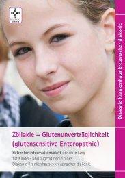 Zöliakie – Glutenunverträglichkeit - Stiftung kreuznacher diakonie