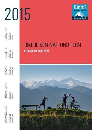 Bikereisen Nah und Fern