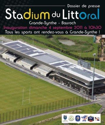 Dossier de presse du stadium du Littoral - Ville de Grande-Synthe
