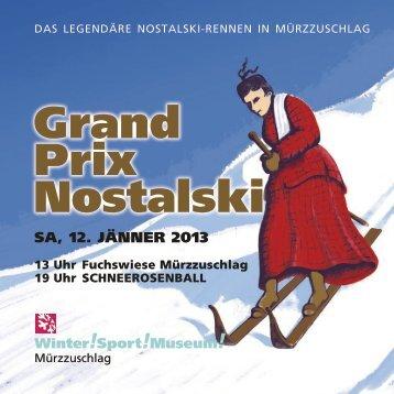 Grand Prix nostalski - Waldheimat Semmering Veitsch
