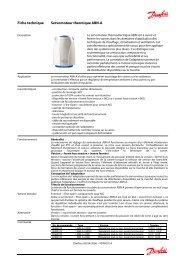 Fiche technique Servomoteur thermique ABN-A - Spécialistes ...
