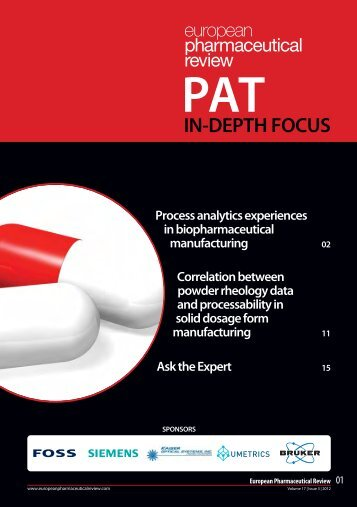 pat in-depth focus - European Pharmaceutical Review