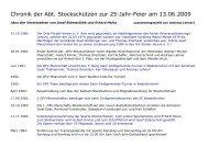 Chronik Stockschützen 2013 - OFV Aich