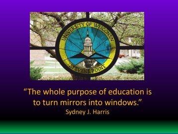 Orientation - University of Wisconsin - Stevens Point