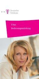 Deutsche Telekom T-Net Bedienungsanleitung ... - Ummelden.de