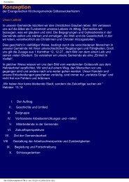 Konzeption - Gemeinde Götterswickerhamm - Evangelische ...