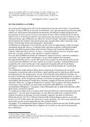 Le collezioni della BiASA, di Maria Cristina Misiti - Artelab