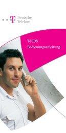 T-ISDN Bedienungsanleitung. Deutsche Telekom - Ummelden.de