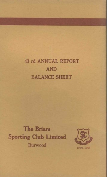 Adec Preview Generated PDF File - Briars at Greenlees Sporting Club