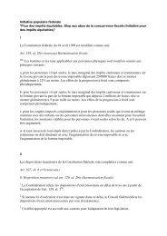 Download Texte de l'initiative (PDF) - PS du canton de Berne
