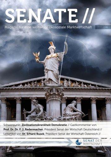 SENATE 2012/4 - Senat der Wirtschaft